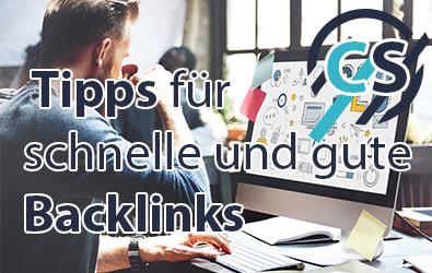 Tips fuer Backlink Aufbau 2019